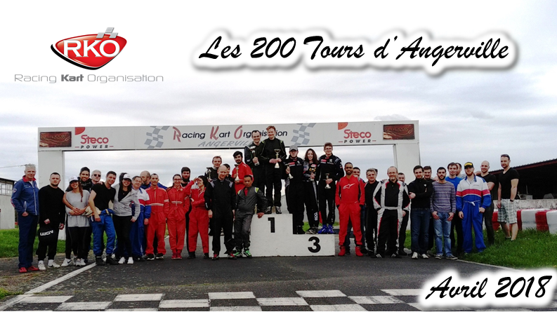LES PARTICIPANTS 200 TOURS ANGERVILLE Avril 2018 f